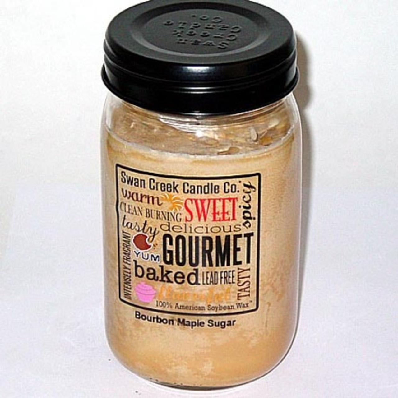 Swan Creek 100% Soy 24 Oz. Jar Candle - Bourbon Maple ...
