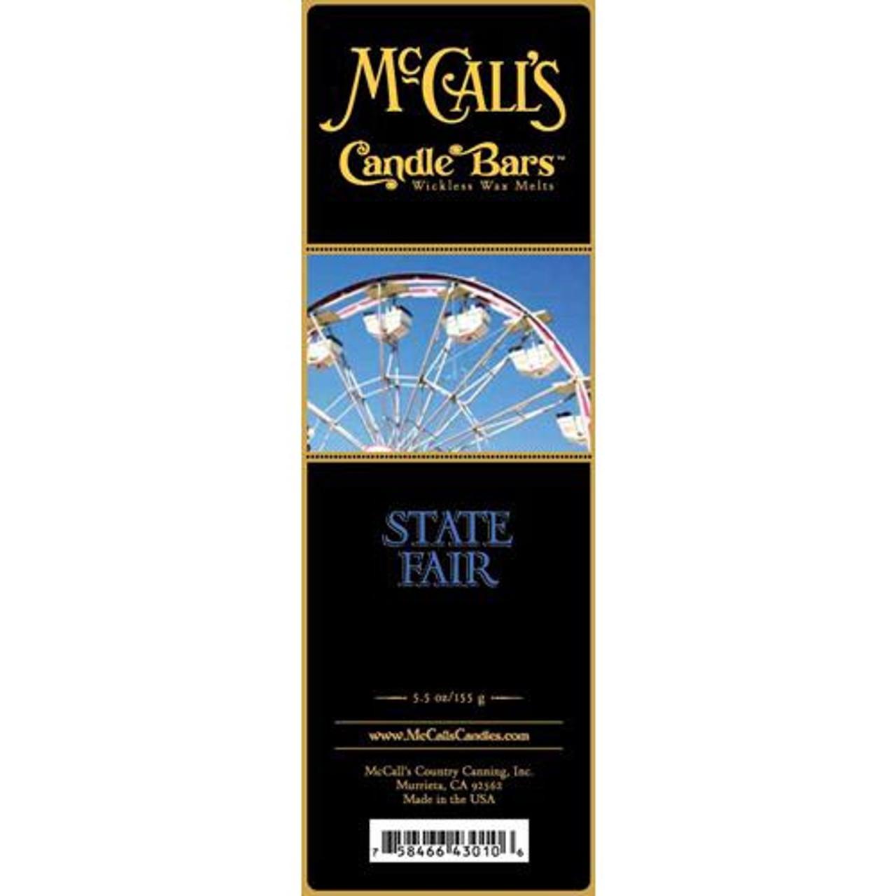 McCall/'s Candles Candle Bar 5.5 oz State Fair