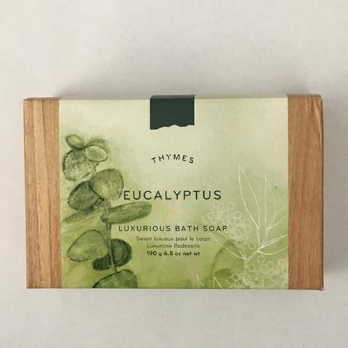 Thymes Luxurious Bath Soap 6.8 Oz. - Eucalyptus