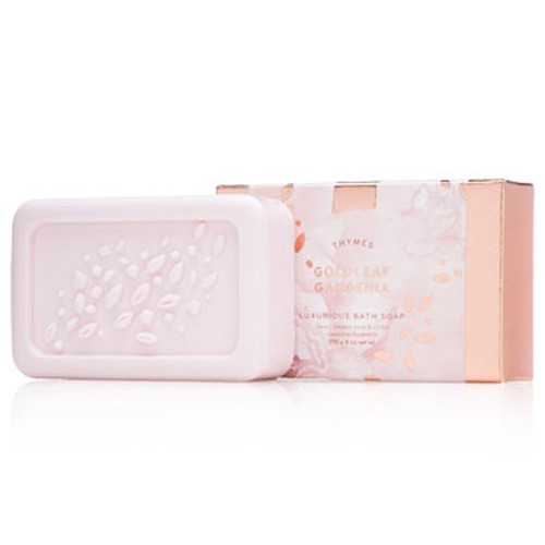 Thymes Luxurious Bath Soap 6.0 Oz. - Goldleaf Gardenia