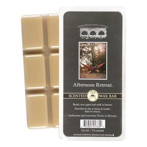 Bridgewater Candle Scented Wax Bar 2.6 Oz. - Afternoon Retreat