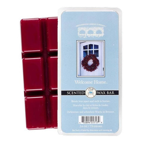 Bridgewater Candle Scented Wax Bar 2.6 Oz. - Welcome Home