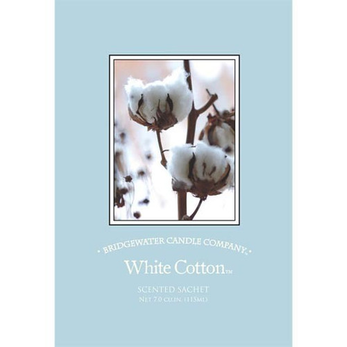Bridgewater Candle Scented Sachet - White Cotton