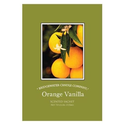 Bridgewater Candle Scented Sachet - Orange Vanilla