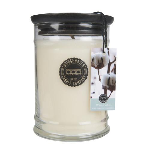 Bridgewater Candle 18 Oz. Jar - White Cotton