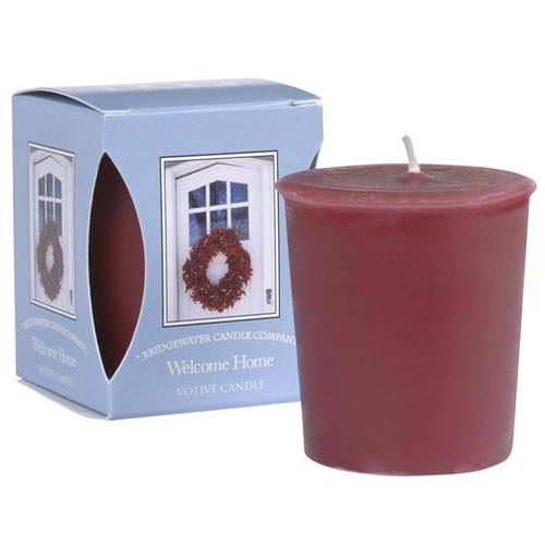 Bridgewater Candle Boxed Votive - Welcome Home
