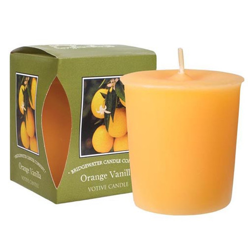 Bridgewater Candle Boxed Votive - Orange Vanilla