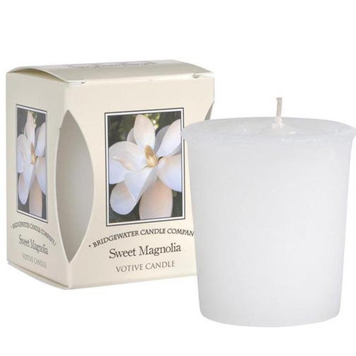 Bridgewater Candle Boxed Votive - Sweet Magnolia