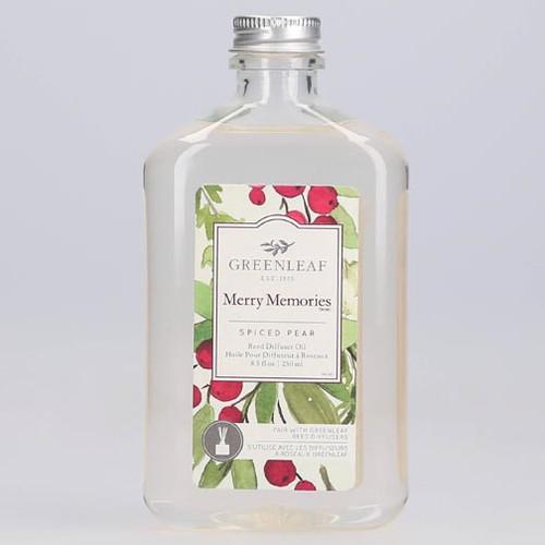 Greenleaf Reed Diffuser Oil 8.5 Oz.- Merry Memories
