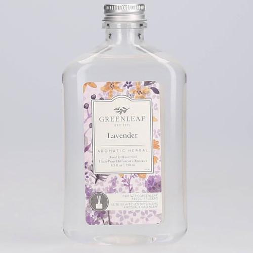 Greenleaf Reed Diffuser Oil 8.5 Oz.- Lavender