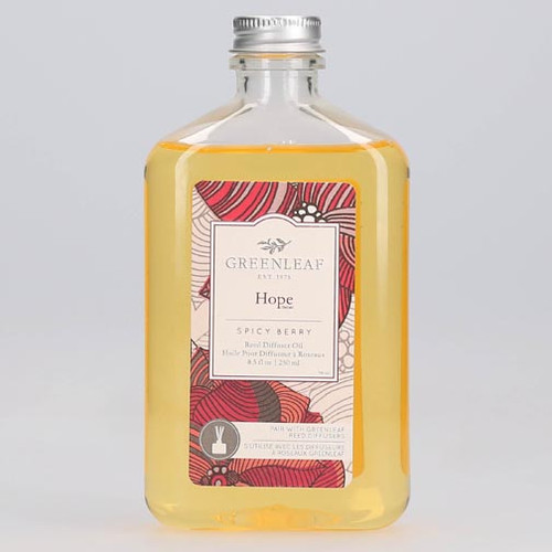 Greenleaf Reed Diffuser Oil 8.5 Oz.- Hope