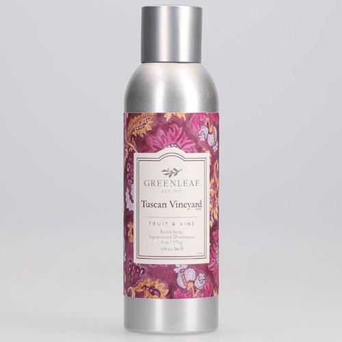 Greenleaf Room Spray 6 Oz. - Tuscan Vineyard