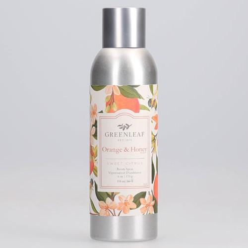 Greenleaf Room Spray 6 Oz. - Orange & Honey