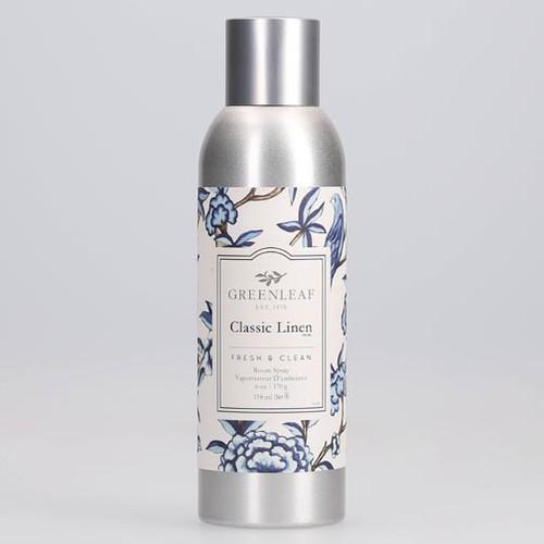 Greenleaf Room Spray 6 Oz. - Classic Linen