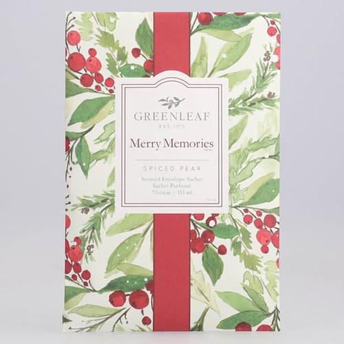Greenleaf Large Scented Envelope Sachet - Merry Memories