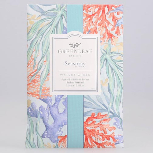 Greenleaf Large Scented Envelope Sachet - Seaspray