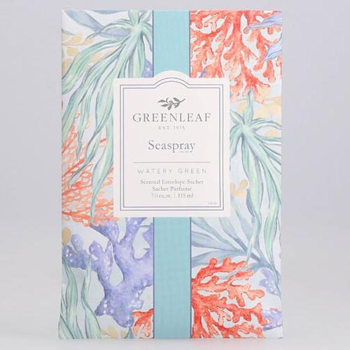 Greenleaf Large Scented Envelope Sachet - Seaspray