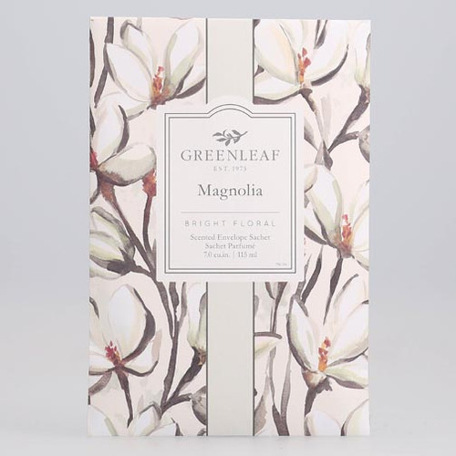 Greenleaf Large Scented Envelope Sachet - Magnolia