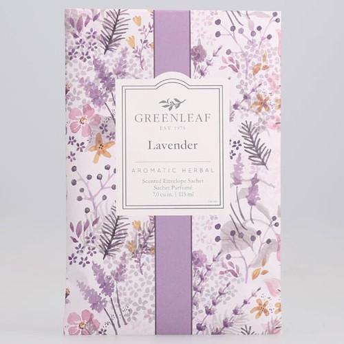Greenleaf Large Scented Envelope Sachet - Lavender