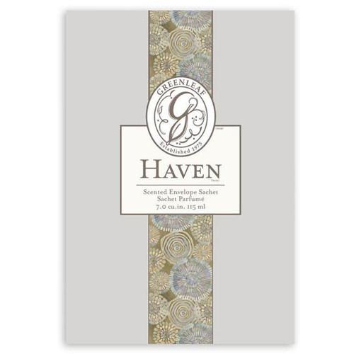 Greenleaf Large Scented Envelope Sachet - Haven