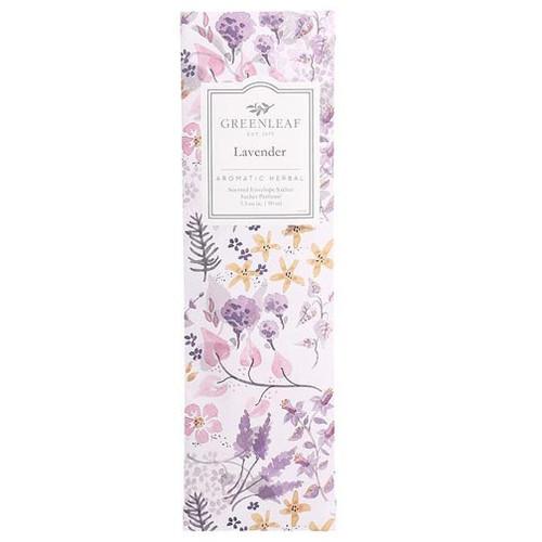 Greenleaf Slim Scented Envelope Sachet - Lavender