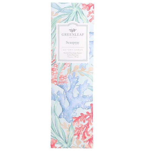 Greenleaf Slim Scented Envelope Sachet - Seaspray