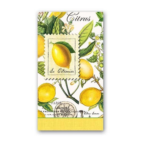 Michel Design Works Paper Hostess Napkins - Lemon Basil