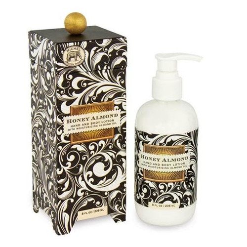 Michel Design Works Hand & Body Lotion 8 Oz. - Honey Almond