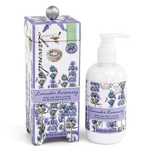 Michel Design Works Hand & Body Lotion 8 Oz. - Lavender Rosemary