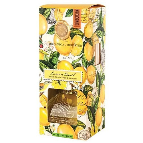 Michel Design Works Home Fragrance Diffuser 7.7 Oz. - Lemon Basil