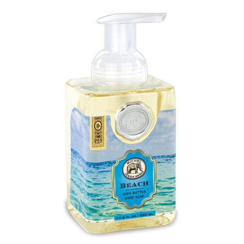 Michel Design Works Foaming Shea Butter Hand Soap 17.8 Oz. - Beach