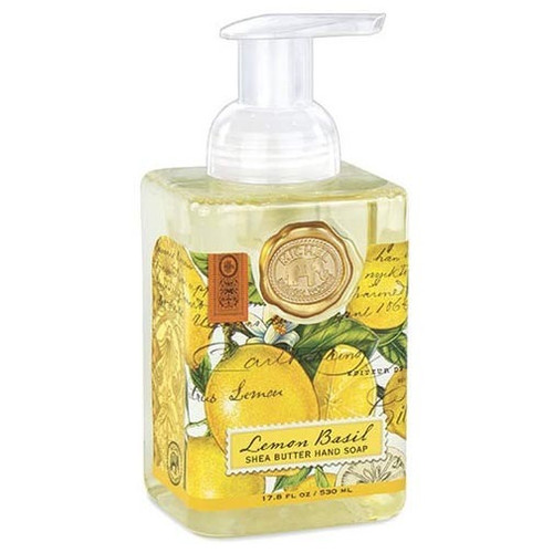 Michel Design Works Foaming Shea Butter Hand Soap 17.8 Oz. - Lemon Basil