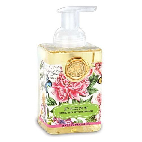 Michel Design Works Foaming Shea Butter Hand Soap 17.8 Oz. - Peony