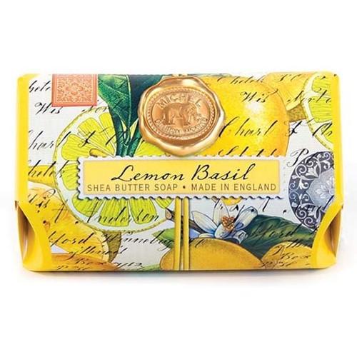 Michel Design Works Bath Soap Bar 9 Oz. - Lemon Basil