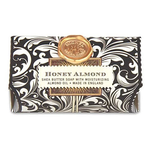 Michel Design Works Bath Soap Bar 9 Oz. - Honey Almond