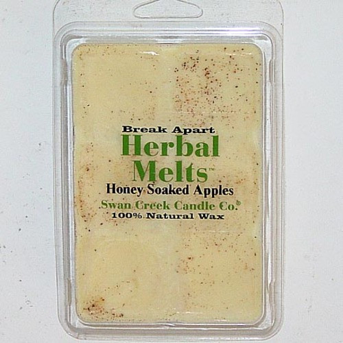 Swan Creek Candle Soy Drizzle Melt 4.75 Oz. - Honey Soaked Apples