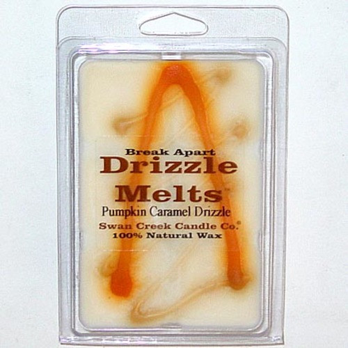 Swan Creek Candle Soy Drizzle Melt 4.75 Oz. - Pumpkin Caramel Drizzle