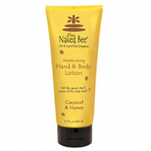 Naked Bee Hand & Body Lotion 6.7 Oz. - Coconut & Honey