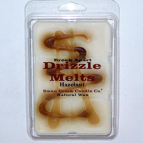 Swan Creek Candle Soy Drizzle Melt 4.75 Oz. - Hazelnut