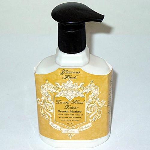 Tyler Candle Glamorous Luxury Hand Lotion 8 Oz. - French Market