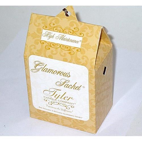 Tyler Candle Glamorous Sachet Box of 4 - High Maintenance