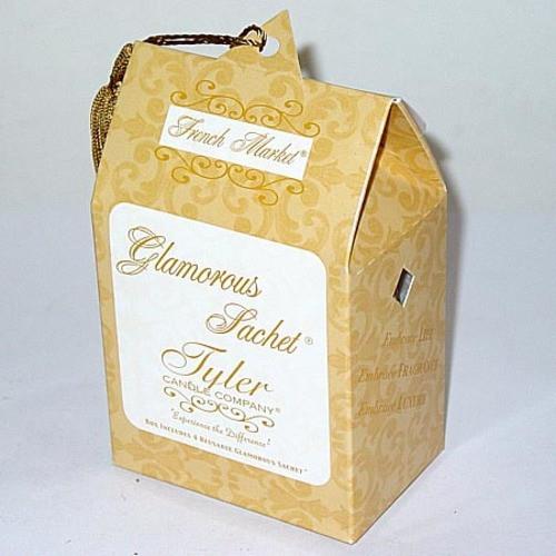 Tyler Candle Glamorous Sachet Box of 4 - French Market