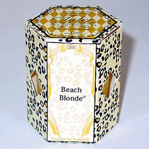 Tyler Candle 15-Hour Boxed Votive - Beach Blonde