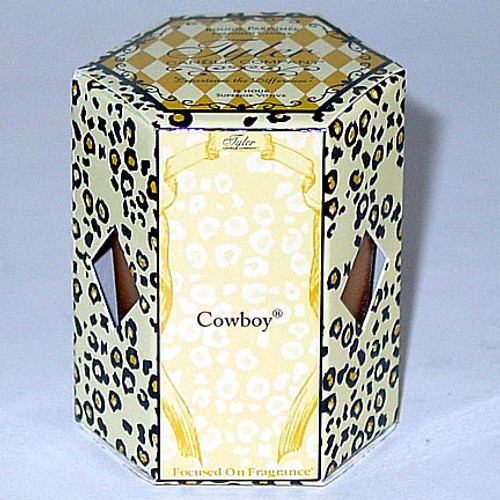 Tyler Candle 15-Hour Boxed Votive - Cowboy