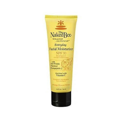 Naked Bee Everyday Facial Moisturizer SPF 30 2.5 Oz. - Orange Blossom Honey