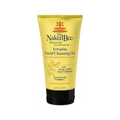 Naked Bee Everyday Facial Cleansing Gel 5.5 Oz. - Orange Blossom Honey