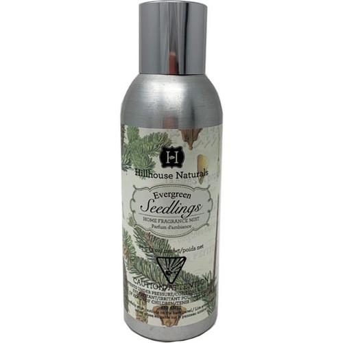 Hillhouse Naturals Fragrance Mist 3 Oz. - Evergreen Seedlings
