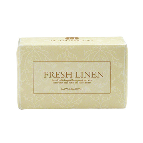 Hillhouse Naturals French Milled Soap 6.6 Oz. - Fresh Linen