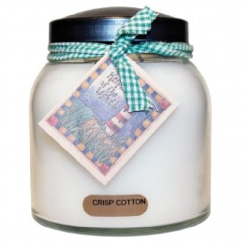Keepers of the Light Papa Jar - Crisp Cotton
