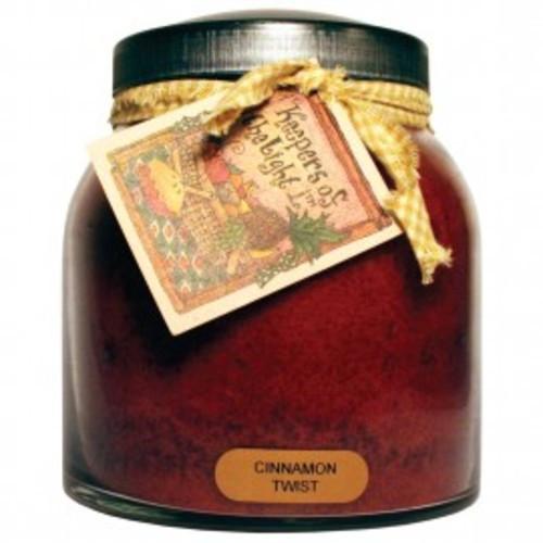 Keepers of the Light Papa Jar - Cinnamon Twist